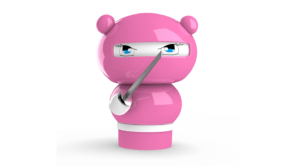 Pink Marketing Ninja Graphic