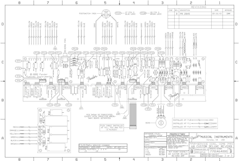 Fender Vibroverb Schematic
