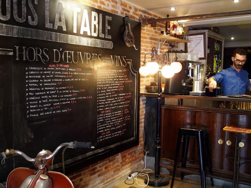 Restaurant Tapas Rue 4 Septembre