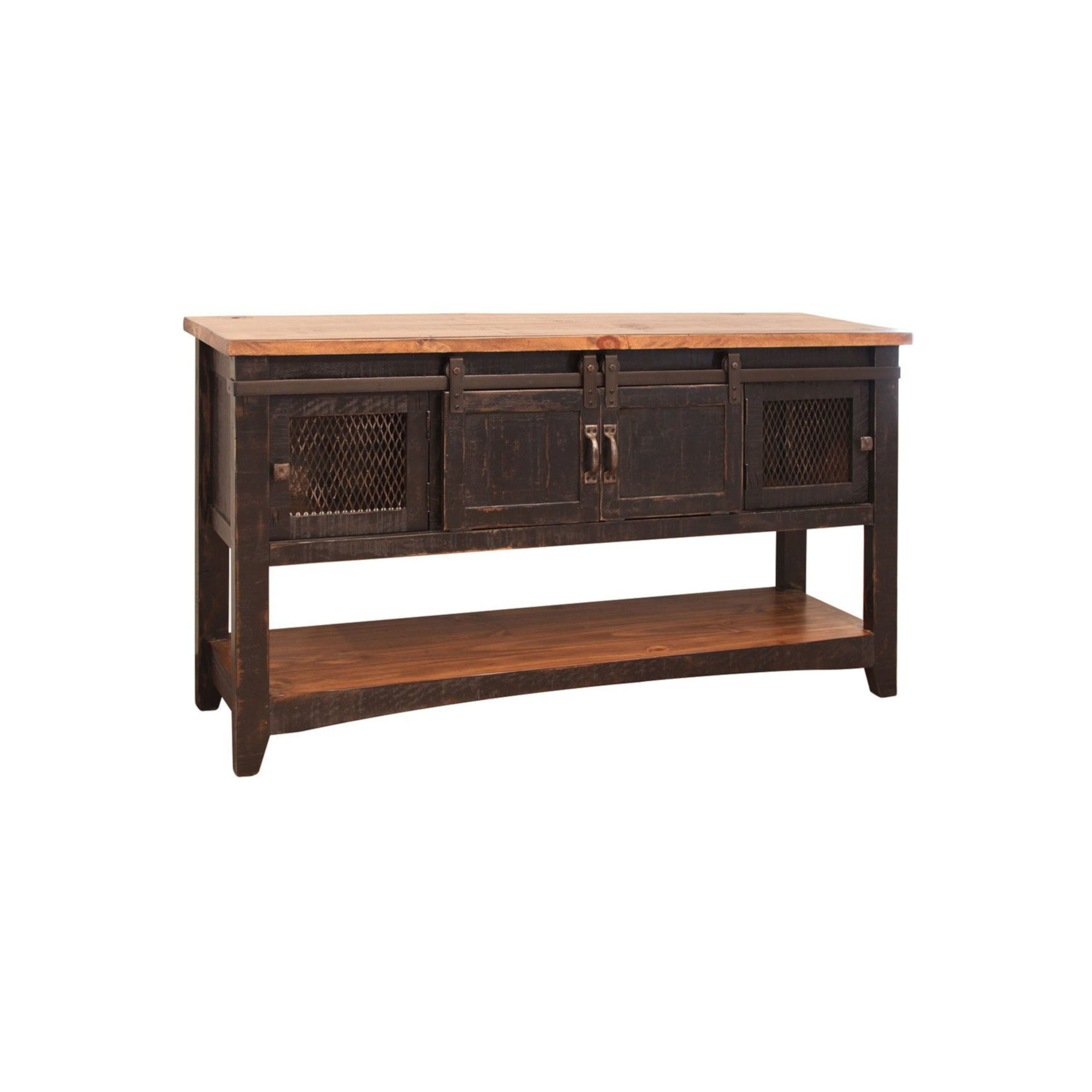 Wood And Metal Coffee Table Sets