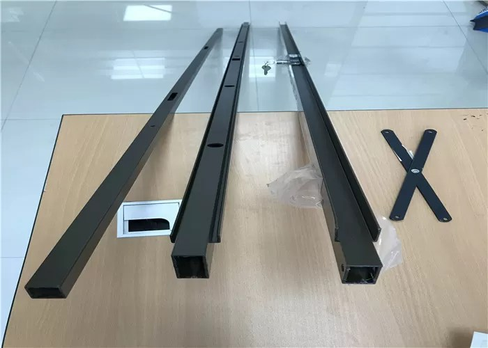 Le Meilleur Powder Coating Aluminum Profiles For Security Door Sliding Ce Mois Ci