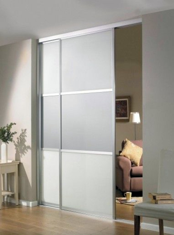 Le Meilleur Sliding Doors As Room Dividers – More Privacy In The Small Ce Mois Ci