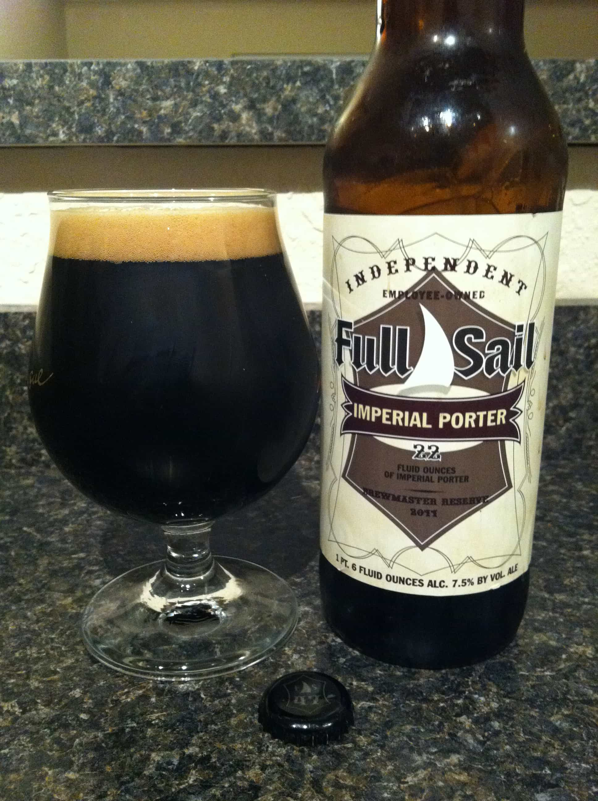Le Meilleur Full Sail Brewing Brewmaster Reserve Imperial Porter Ce Mois Ci