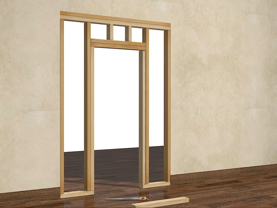 Le Meilleur How To Frame A Door Opening 13 Steps With Pictures Ce Mois Ci