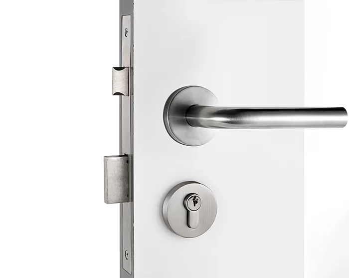 Le Meilleur Privacy Stainless Steel Door Lock With Satin Stainless Ce Mois Ci