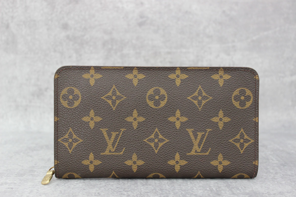 Le Meilleur Louis Vuitton Monogram Porte Monnaie Zippe Zippered Wallet Ce Mois Ci