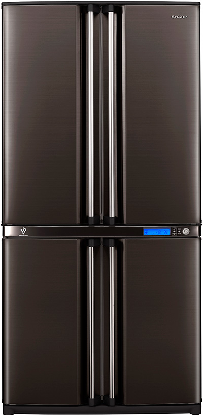 Le Meilleur Four Door Bottom Freezer Refrigerator Sharp Sj F800Sp Ce Mois Ci