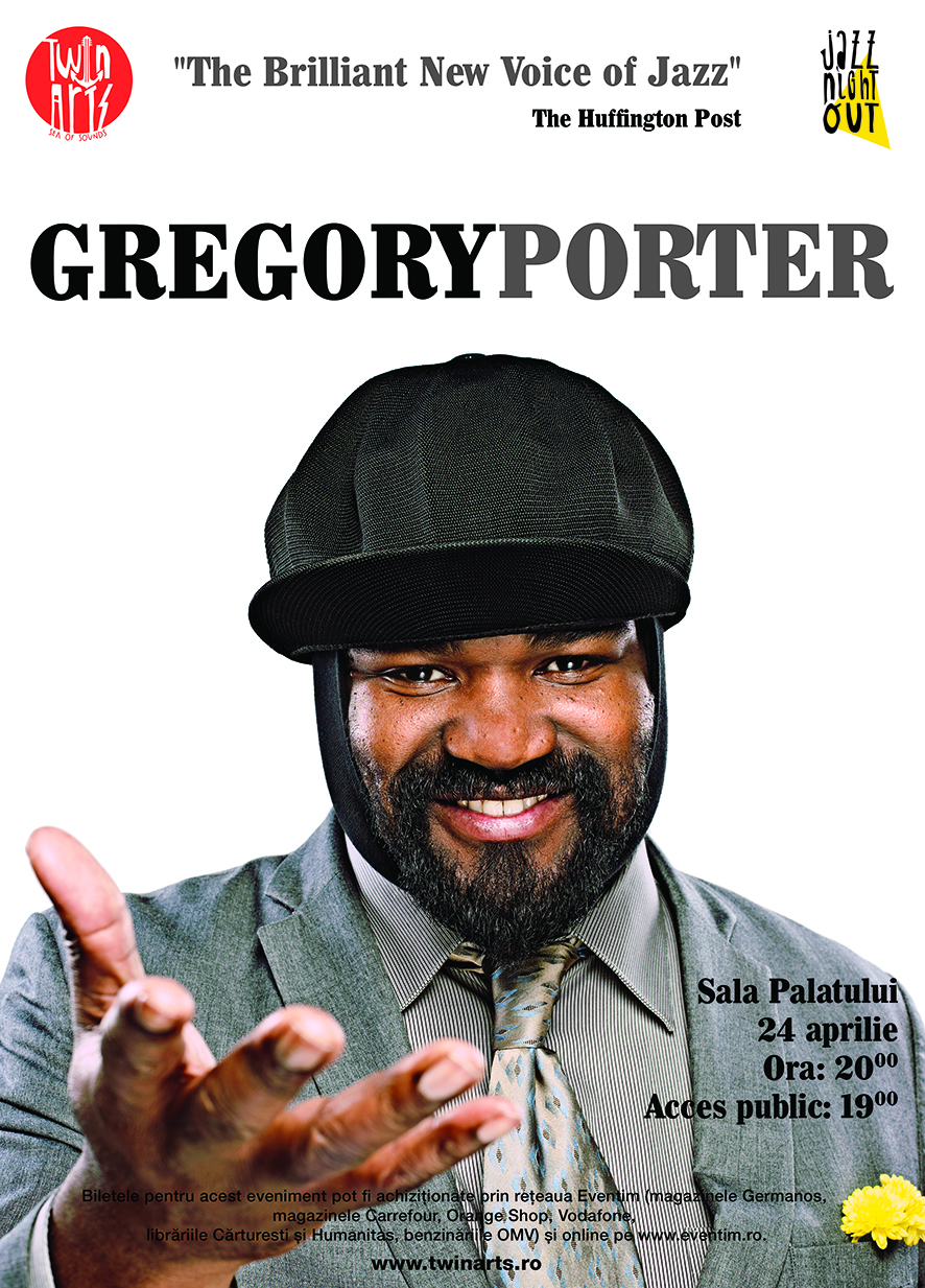 Le Meilleur Gregory Porter To Hold A Concert In Bucharest At Sala Ce Mois Ci