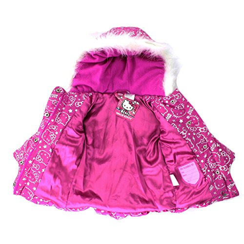 Le Meilleur Hello Kitty Girls Pink Puffer Coat Jacket 2T Apparel Ce Mois Ci
