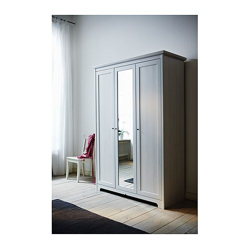 Le Meilleur Aspelund Wardrobe With 3 Doors Ikea For The Home Ce Mois Ci