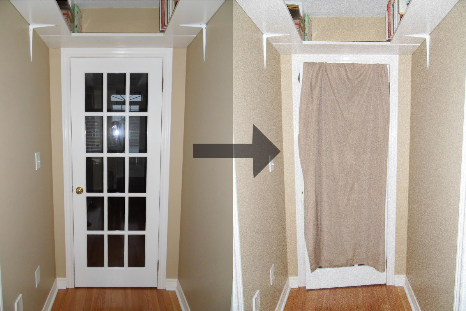 Le Meilleur Not A House But A Home French Door Cover Up Ce Mois Ci