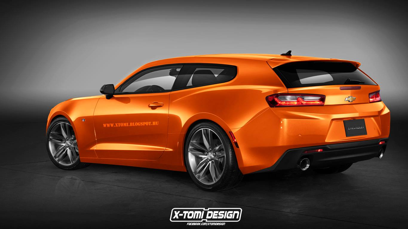 Le Meilleur What About A 2016 Camaro Rs Shooting Brake Or Four Door Ce Mois Ci