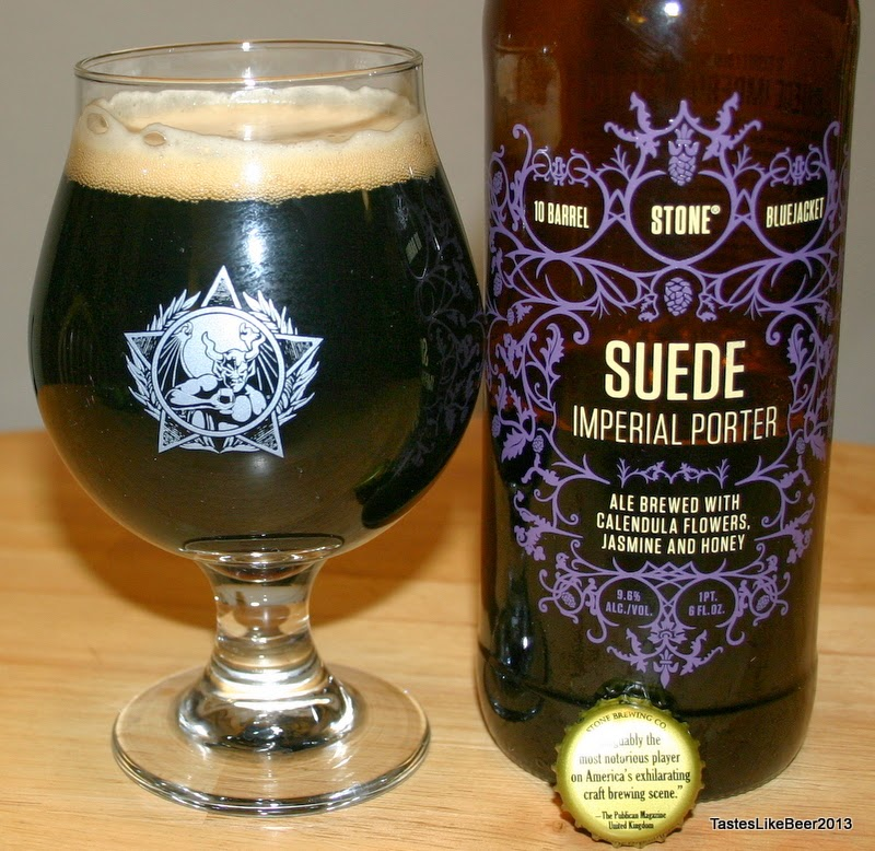 Le Meilleur Tastes Like Beer Stone Brewing Co Suede Imperial Porter Ce Mois Ci