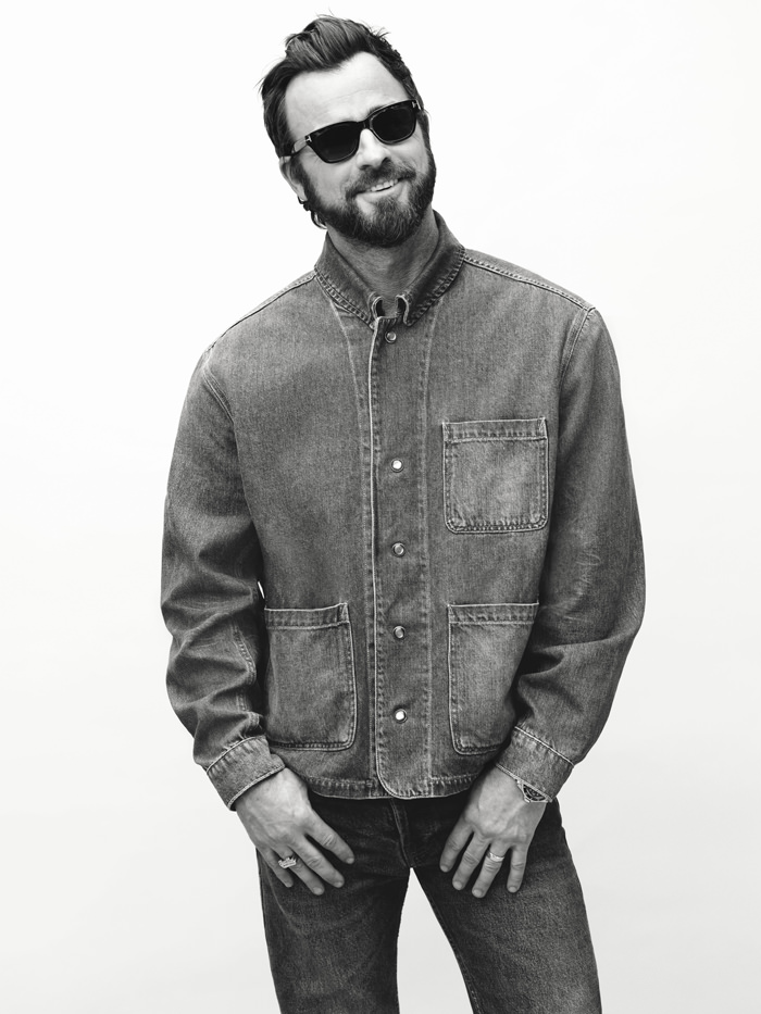 "Le Meilleur Justin Theroux For Mr Porter's ""The Journal"" Style Guide Ce Mois Ci"