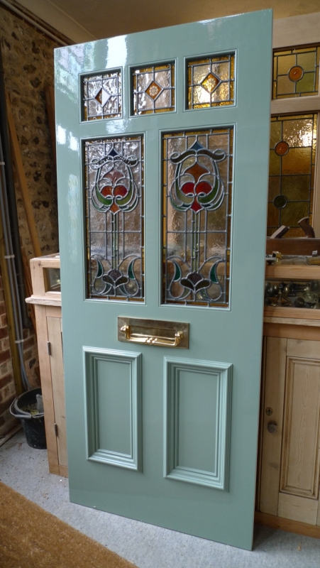 Le Meilleur Art Nouveau Stained Glass Door Front Door Stained Glass Ce Mois Ci