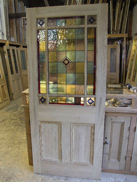 Le Meilleur External Downham Stained Glass Door Stained Glass Doors Ce Mois Ci