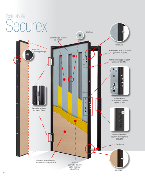 Le Meilleur Securex Alias Srl Production Portes Blindees Ce Mois Ci