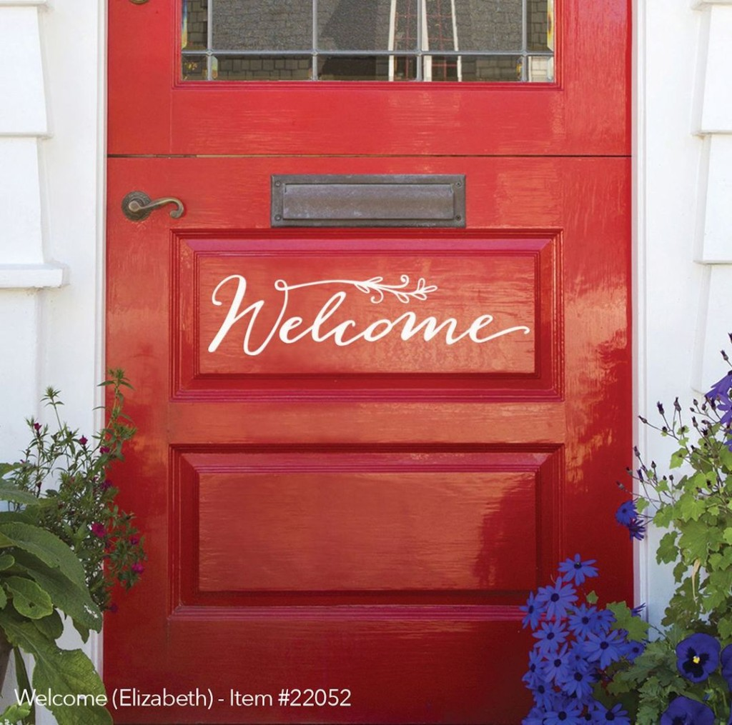 Le Meilleur New Front Door Welcome Sign Expressions Available Ce Mois Ci