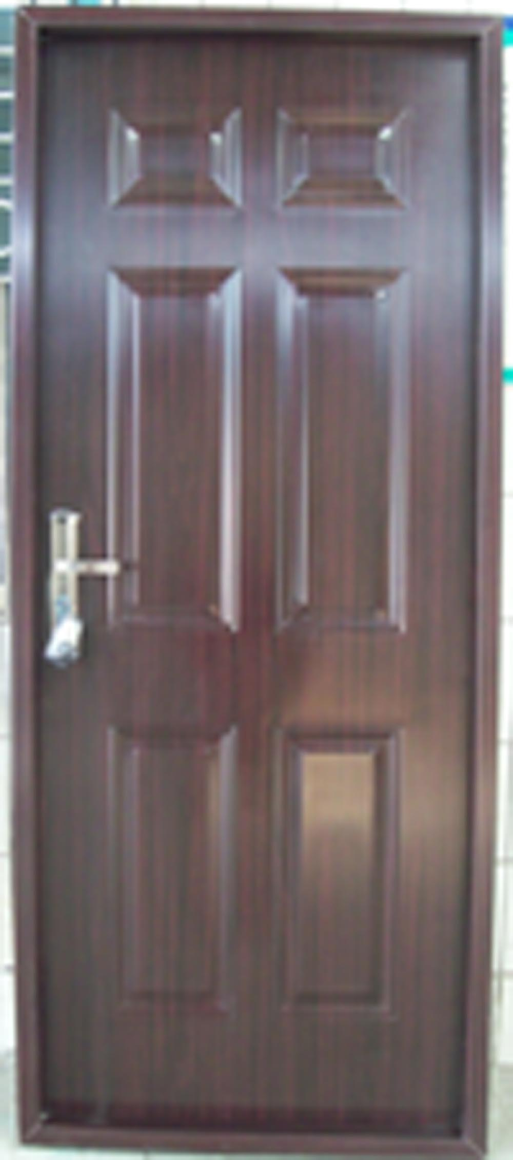 Le Meilleur 6 Panel Pvc Steel Door Pvc Coated Door Ce Mois Ci