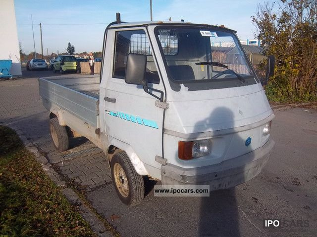 Le Meilleur 1993 Piaggio Ape Porter Pick 220 Car Photo And Specs Ce Mois Ci