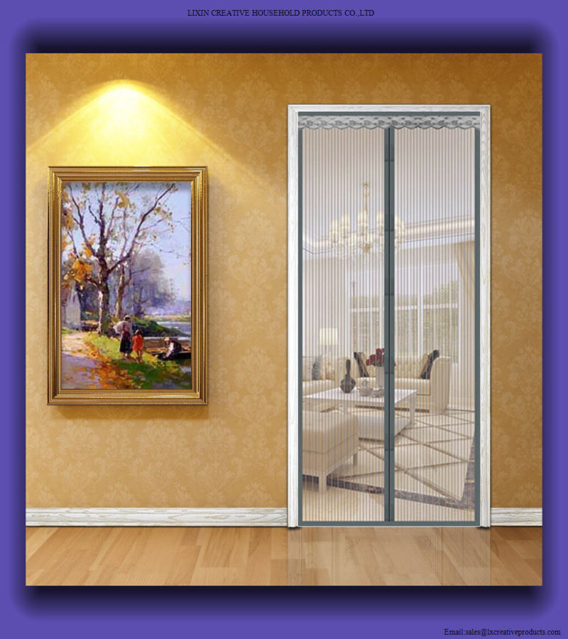 Le Meilleur China 2017 Magnetic Fly Screen Window Door Insect Curtain Ce Mois Ci