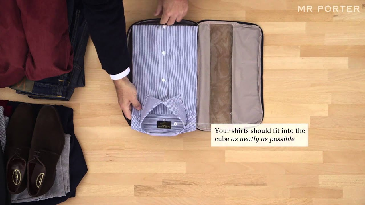 Le Meilleur How To Pack With Tumi Mr Porter Youtube Ce Mois Ci
