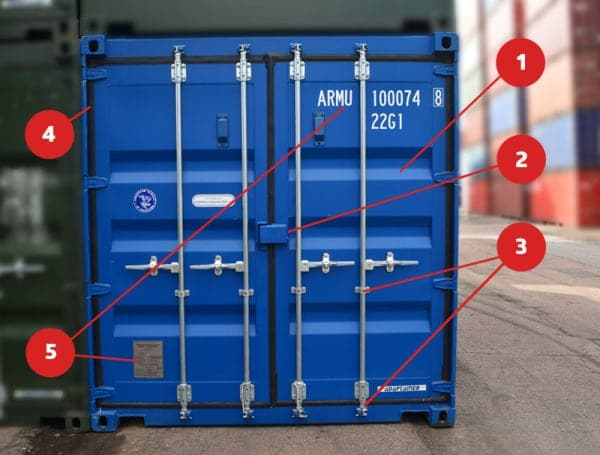 Le Meilleur How To Open And Close Your Shipping Container Doors Ce Mois Ci
