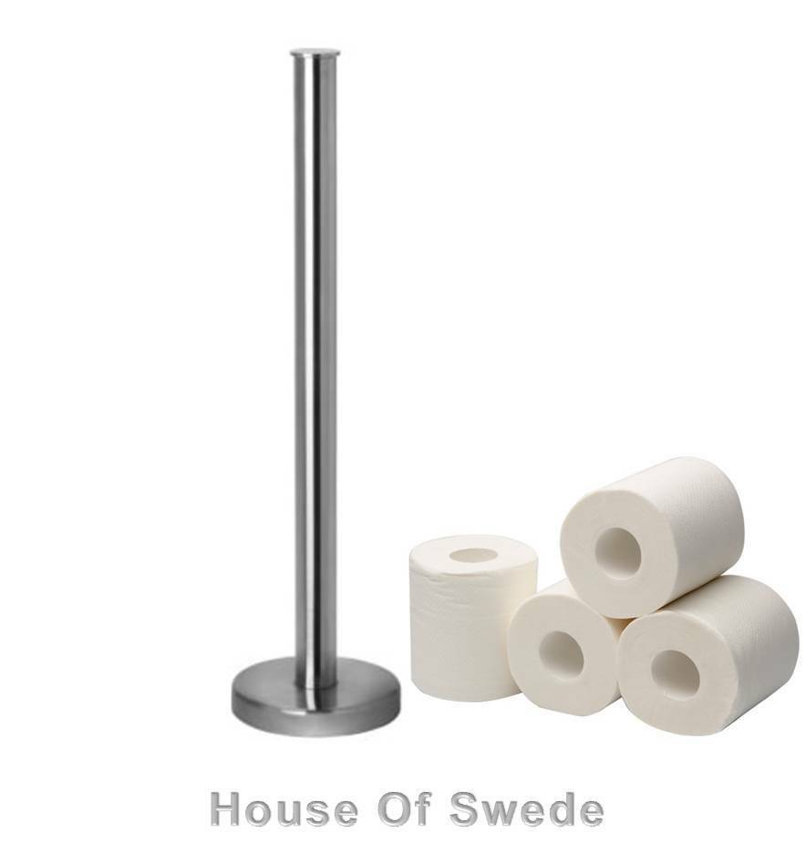 Le Meilleur Ikea Toilet Paper Roll Stand Stainless Steel Holder Rack Ce Mois Ci