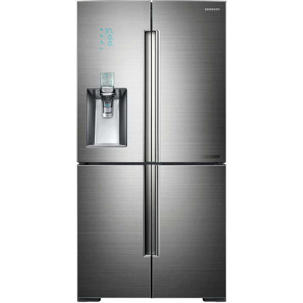 Le Meilleur Samsung Stainless 34 Cu Ft French 4 Door Bottom Freezer Ce Mois Ci