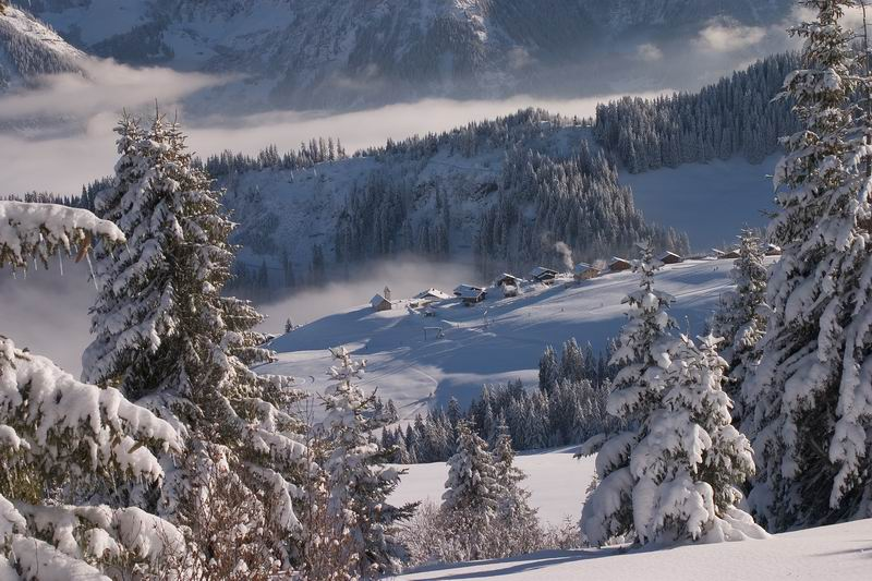 Le Meilleur Champoussin Covered With Snow A Photo From Valais West Ce Mois Ci