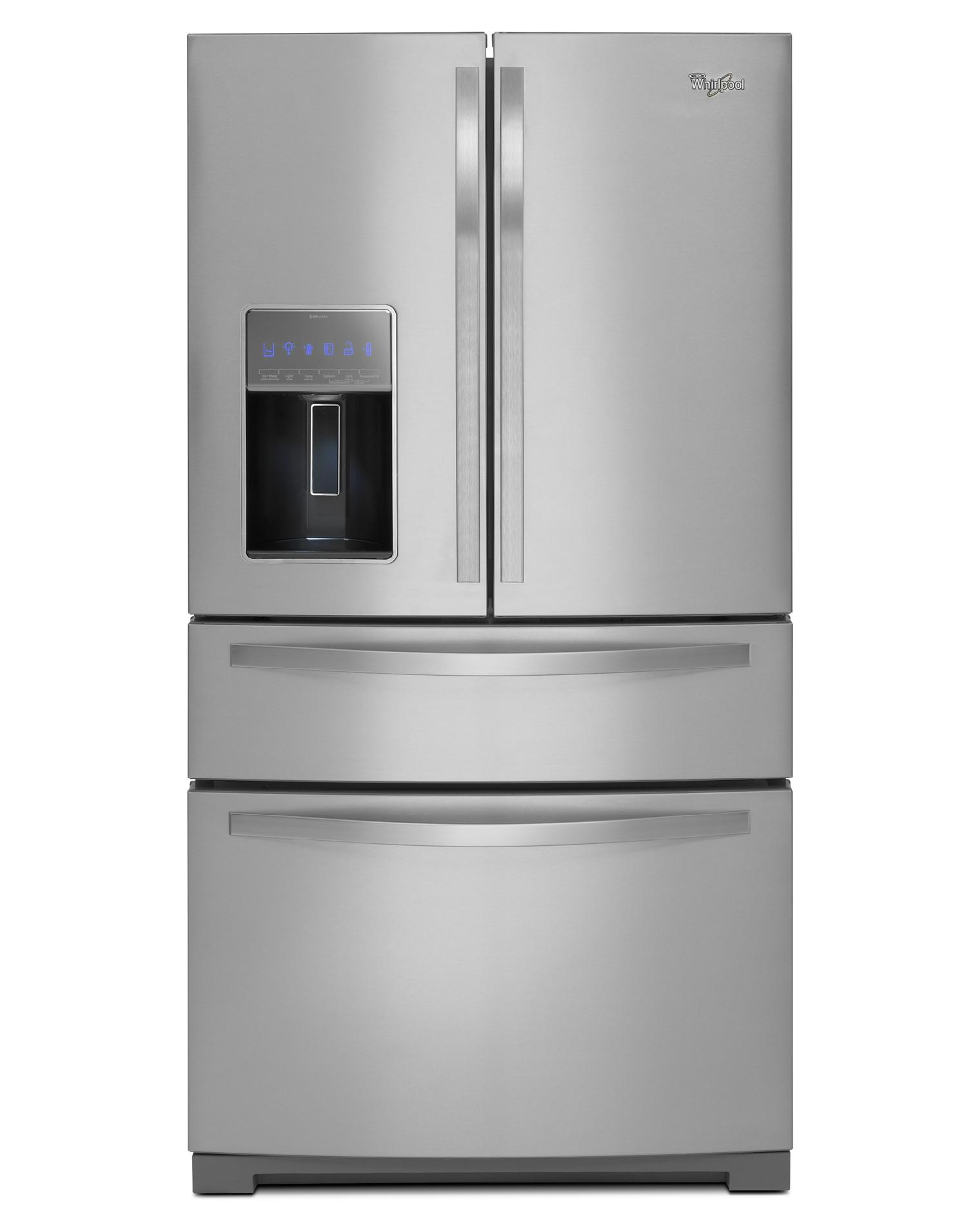 Le Meilleur Whirlpool 28 1 Cu Ft French Door Refrigerator W Most Ce Mois Ci