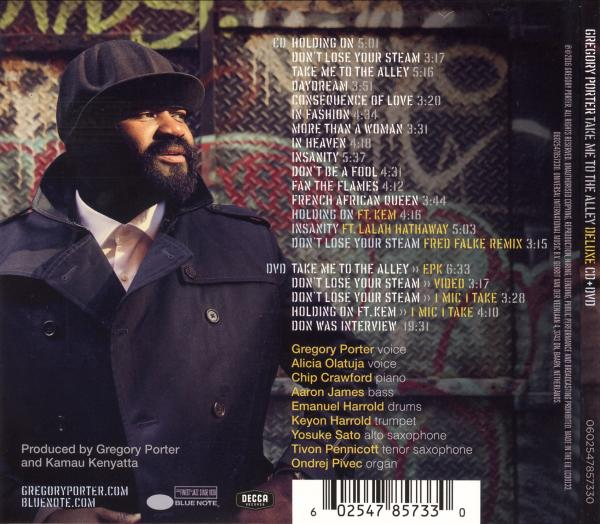 Le Meilleur Covers Box Sk Gregory Porter Take Me To The Alley Ce Mois Ci