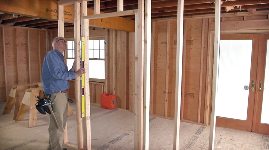 Le Meilleur How To Frame A Door Opening Fine Homebuilding Ce Mois Ci
