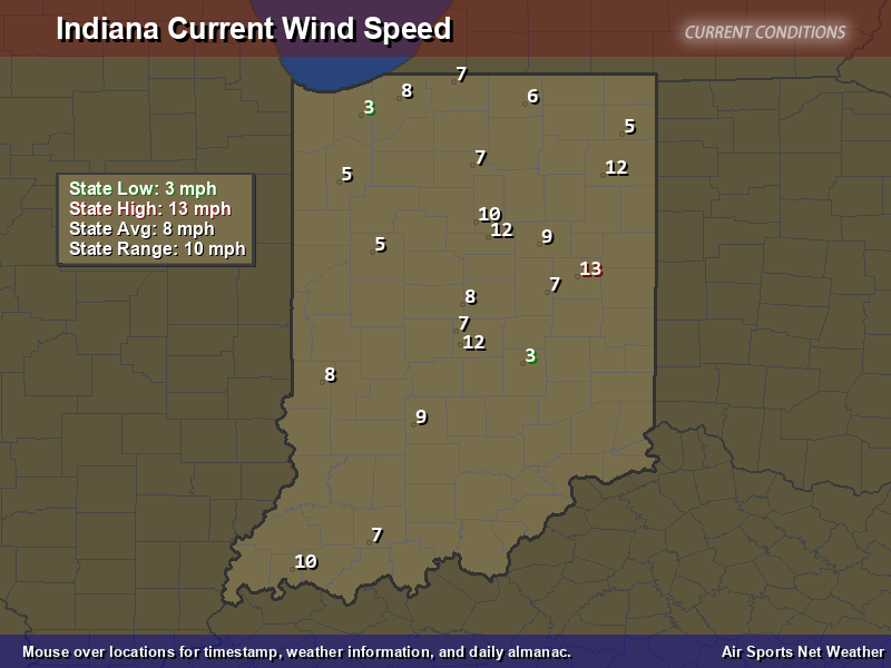 Le Meilleur Indiana Wind Speed Map Air Sports Net Ce Mois Ci