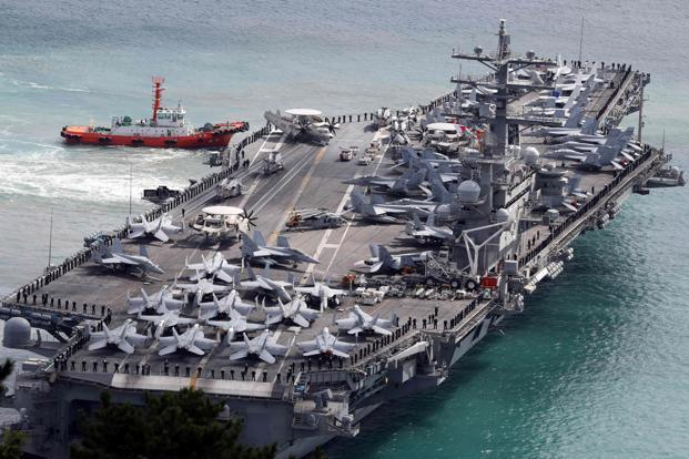 Le Meilleur Us Puts 3 Aircraft Carriers In West Pacific For First Time Ce Mois Ci