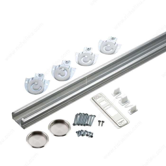 Le Meilleur Hardware Kit With Track For Sliding Doors Onward Hardware Ce Mois Ci