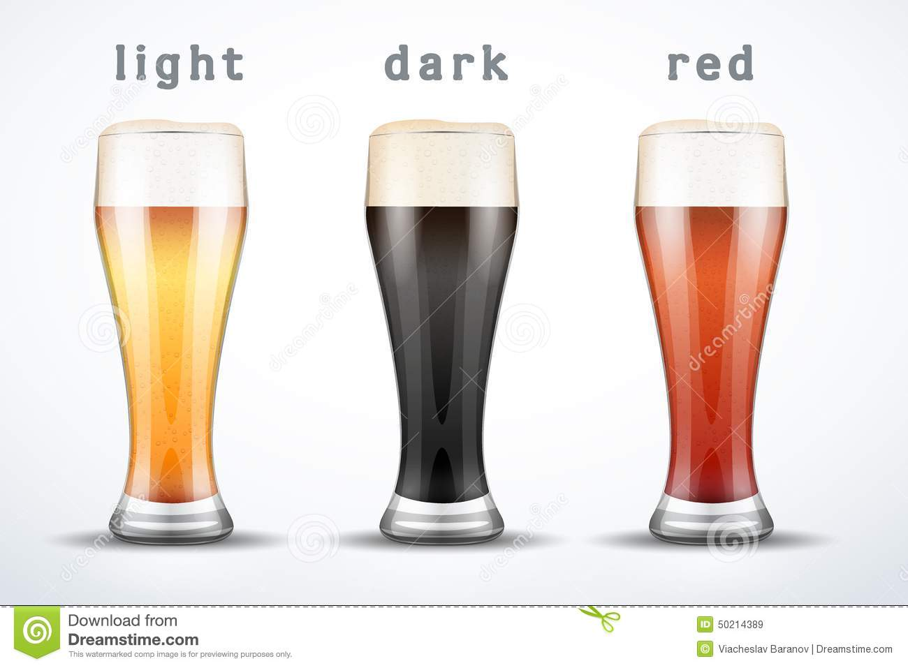 Le Meilleur Beer Mugs With Three Brands Stock Vector Image 50214389 Ce Mois Ci
