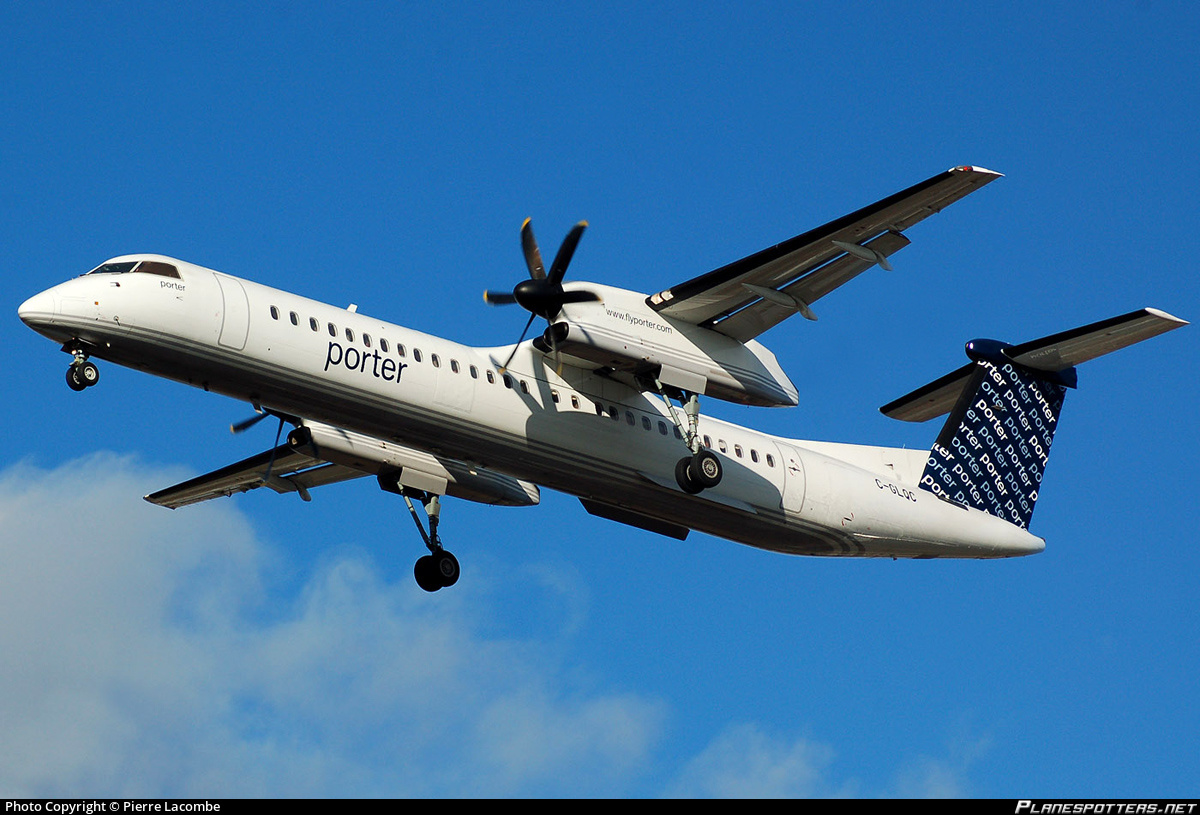 Le Meilleur Breaking Porter Airlines Dash 8 400 Was Forced To Take Ce Mois Ci