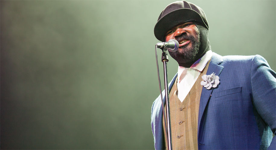 Le Meilleur Gregory Porter A Very Cool Cat In A Hat Westside Rmc Ce Mois Ci