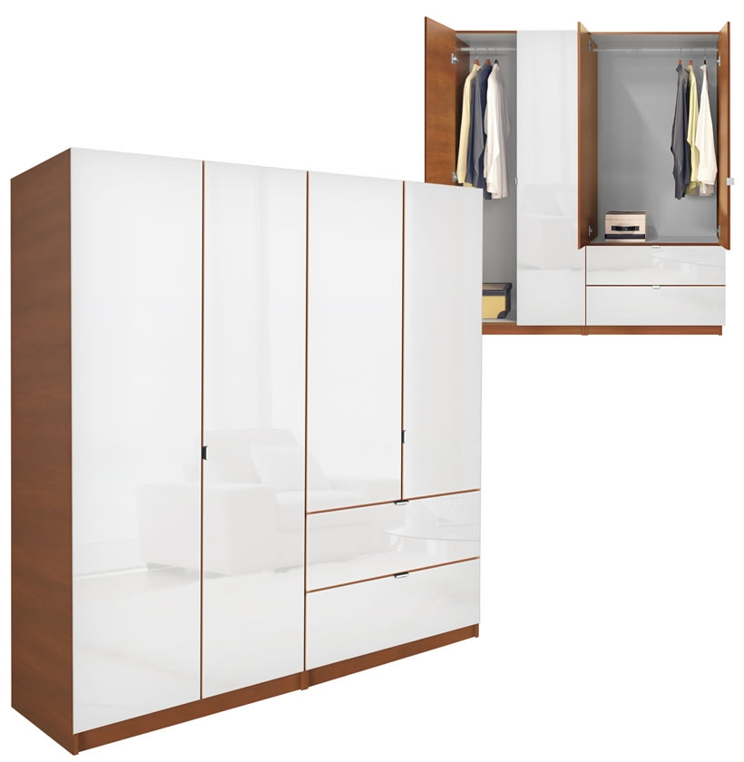 Le Meilleur Alta 4 Door Wardrobe Cabinet Package Plus Drawers Ce Mois Ci