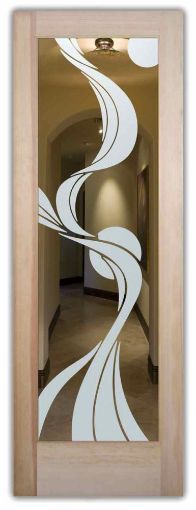 Le Meilleur Ribbon Reflection Moons Interior Doors With Glass Etching Ce Mois Ci