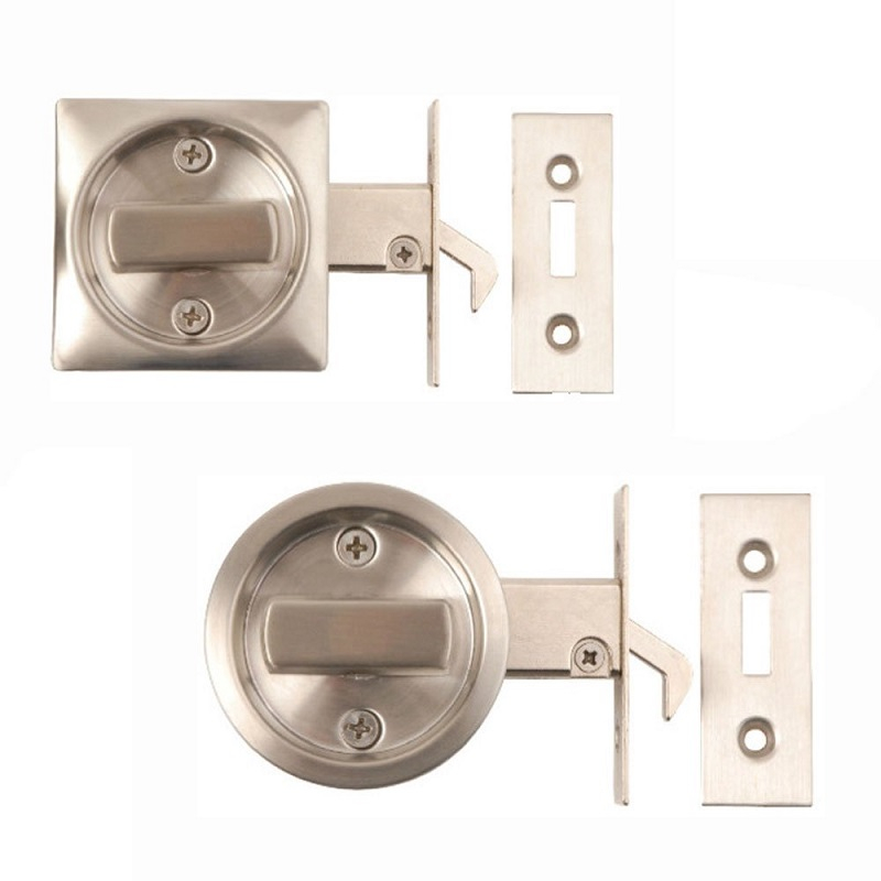 Le Meilleur Excel Stainless Steel Sliding Door Lock Pocket Latch Hook Ce Mois Ci