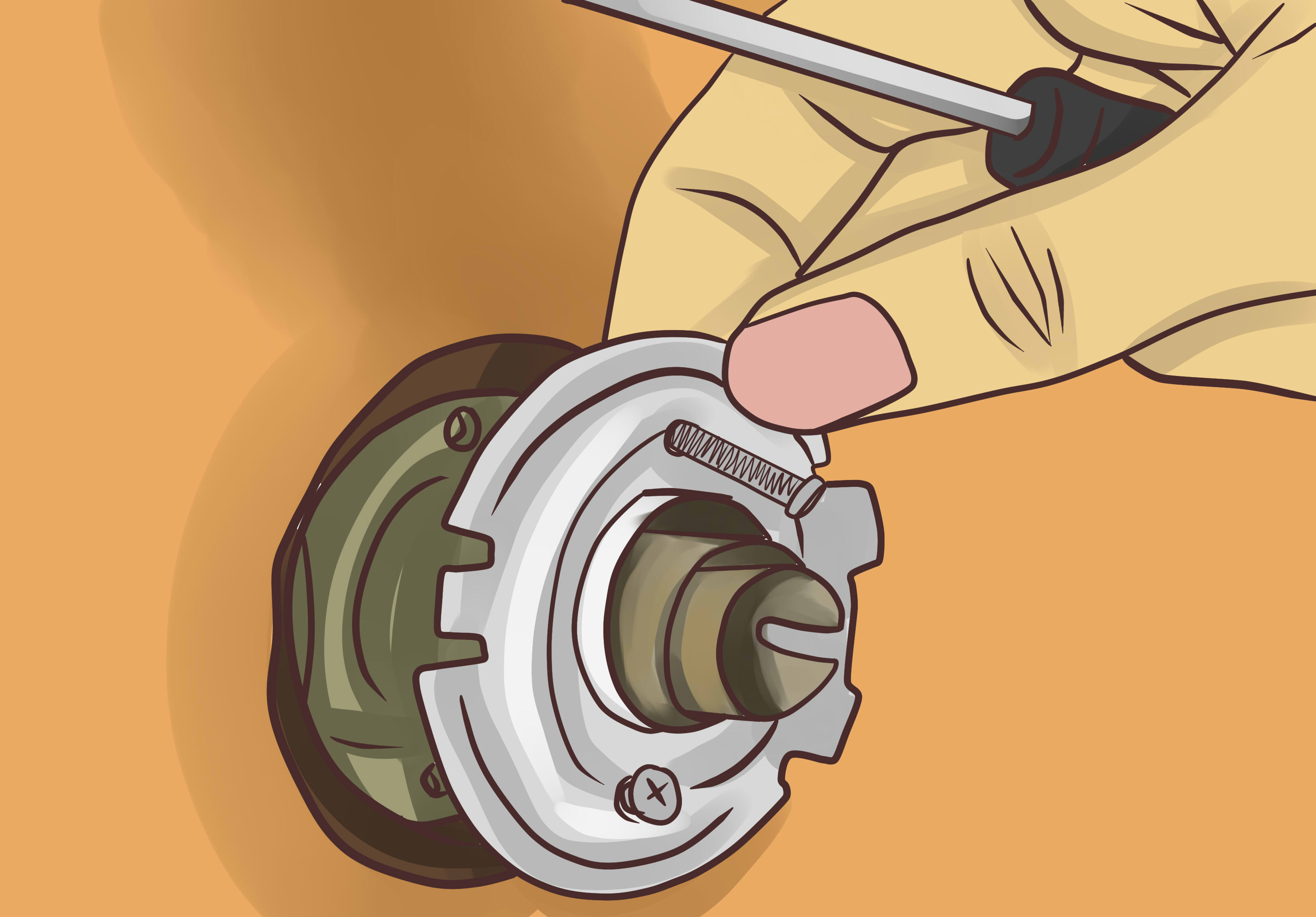 Le Meilleur 3 Ways To Remove A Door Handle Wikihow Ce Mois Ci