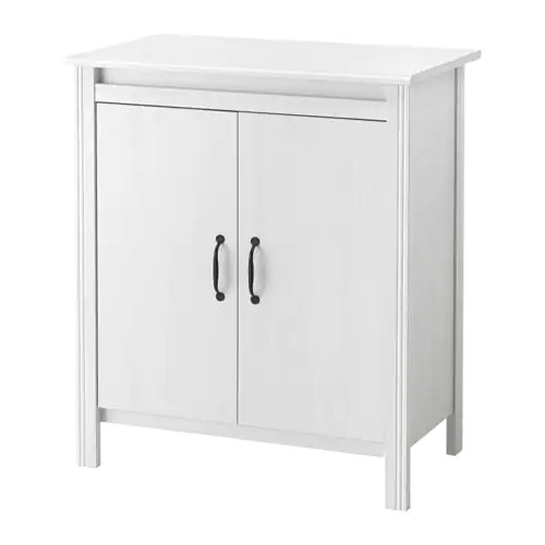 Le Meilleur Brusali Cabinet With Doors White Ikea Ce Mois Ci
