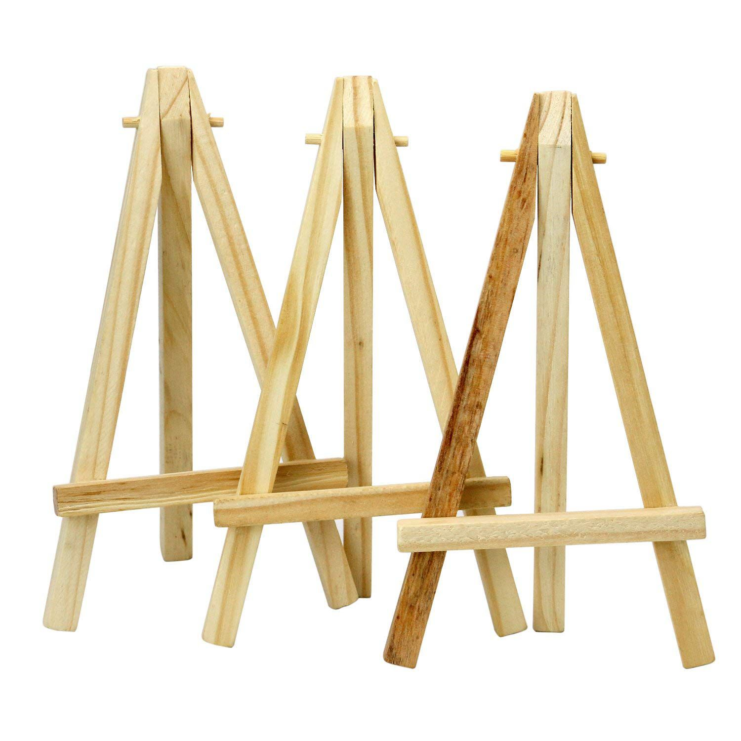 Le Meilleur New Mini 6 Inch Tall Wooden Easels Artistic Projects Photo Ce Mois Ci