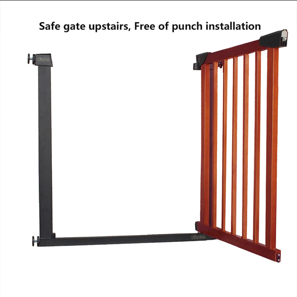 Le Meilleur Hk Free Solid Wood Child Gate Fence Baby Gate Barrier Ce Mois Ci