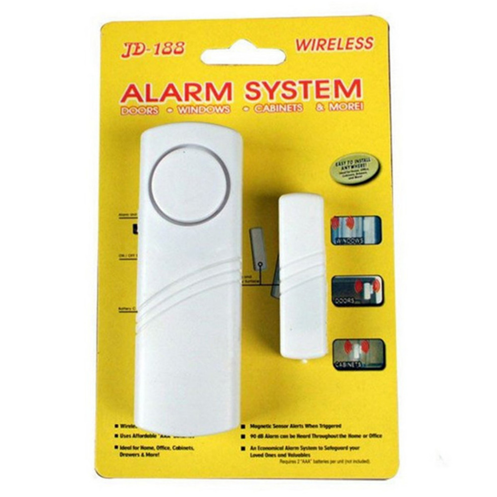 Le Meilleur Wireless Burglar Alarm W Magnetic Sensor Window Door Ce Mois Ci