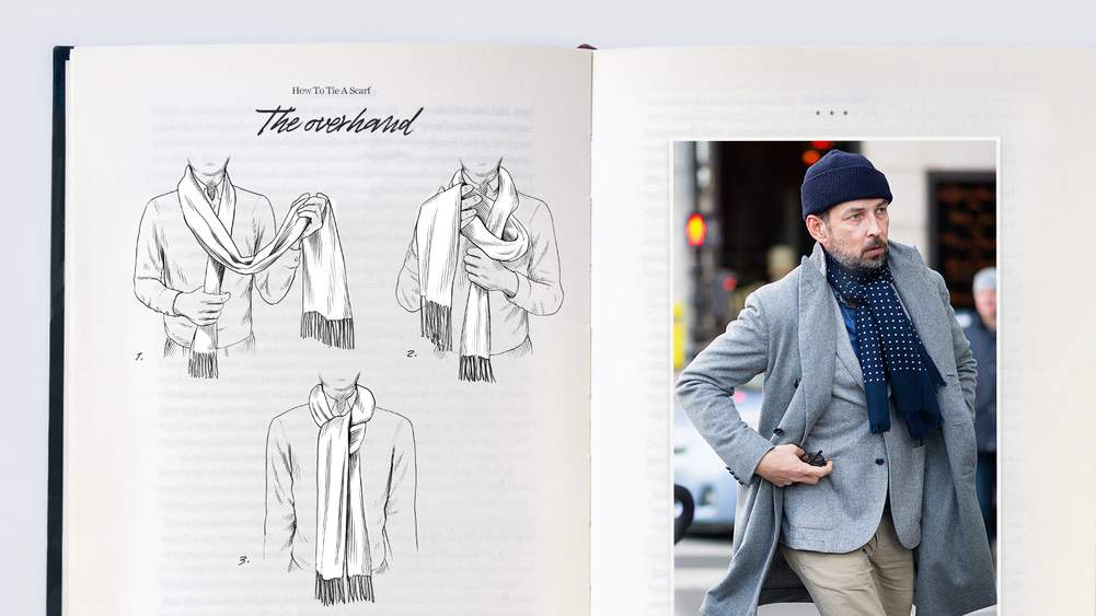 Le Meilleur How To Tie A Scarf A Gentleman's Guide The Journal Ce Mois Ci