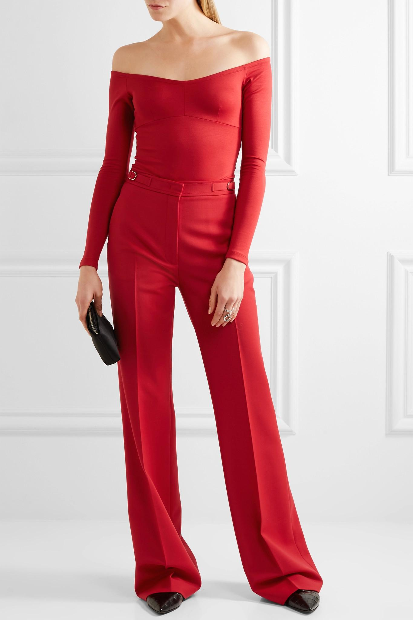 Le Meilleur Lyst Gabriela Hearst Hobbs Off The Shoulder Stretch Ce Mois Ci
