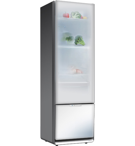 Le Meilleur The S Home Refrigerator And Freezer With Transparent Doors Ce Mois Ci